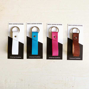 Leather Basic Keyring ver.2