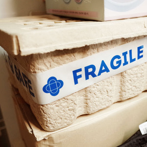 FRAGILE TAPE-BLUE